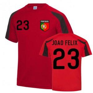 Joao Felix Portugal Sports Training Jersey (Red-Black)