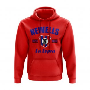 Newells Old Boys Established Hoody (Red)