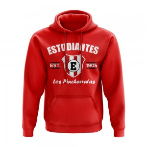 Estudiantes de La Plata Established Hoody (Red)