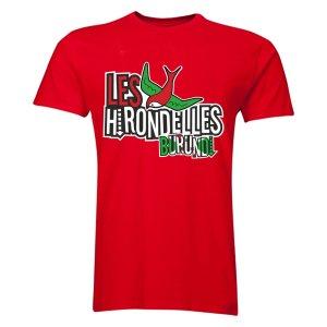 Burundi Les Hirondelles T-Shirt (Red) - Kids