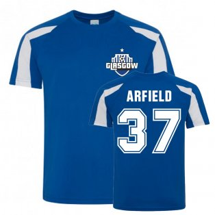Scott Arfield Rangers Sports Training Jersey (Royal)