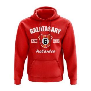 Galatasaray Established Hoody (Red)
