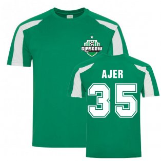 Kristoffer Ajer Celtic Sports Training Jersey (Green)