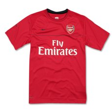 08-09 Arsenal Training Jersey (red) - Kids