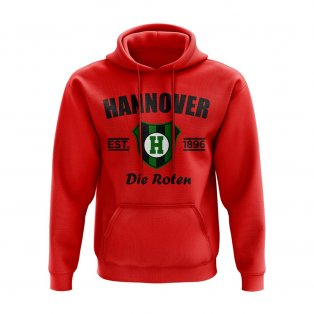 Hannover 96 Established Hoody (Red)