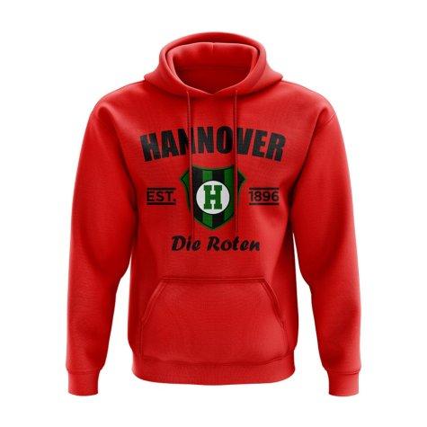 Hannover 96 Established Hoody (Red)
