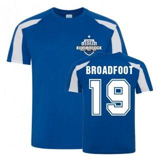 Kirk Broadfoot Kilmarnock Sports Training Jersey (Blue)