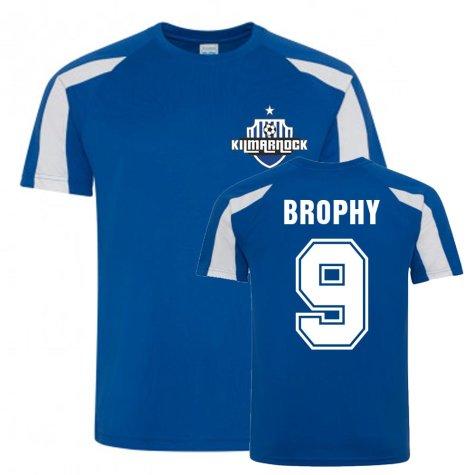 Eamonn Brophy Kilmarnock Sports Training Jersey (Blue)