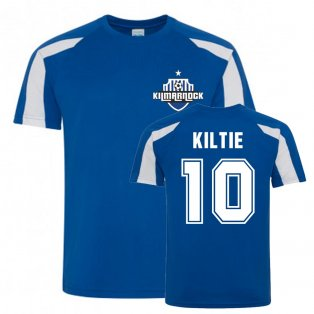 Greg Kiltie Kilmarnock Sports Training Jersey (Blue)