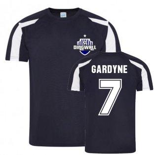Michael Gardyne Ross County Sports Training Jersey (Navy)