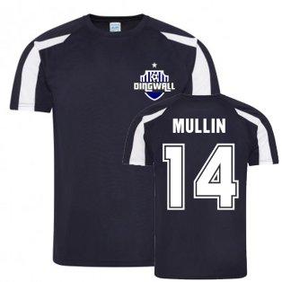 Josh Mullin Ross County Sports Training Jersey (Navy)