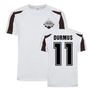 Ilkay Durmas St Mirren Sports Training Jersey (White)