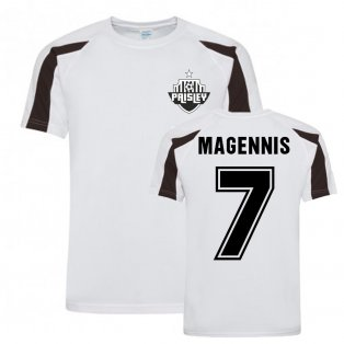 Kyle Magennis St Mirren Sports Training Jersey (White)