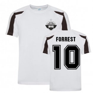 Alan Forrest Ayr United Sports Training Jersey-(White)