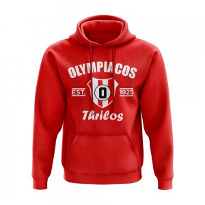 Olympiakos Established Hoody (Red)