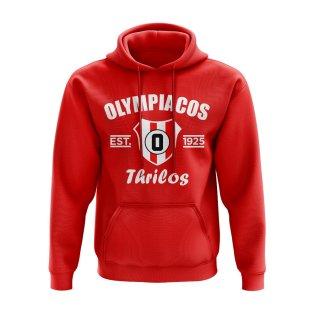 Olympiakos Established Hoody (Red)