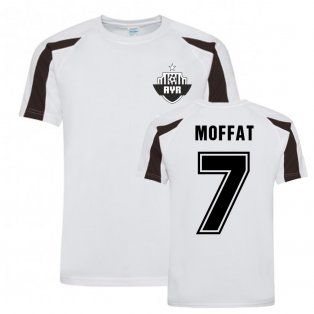 Michael Moffat Ayr United Sports Training Jersey-(White)