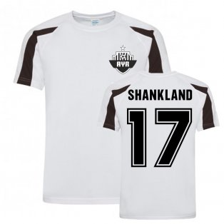 Lawrence Shankland Ayr United Sports Training Jersey-(White)