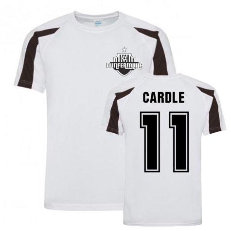 Joe Cardle Dunfermline Sports Training Jersey (White)