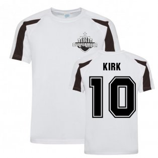 Andy Kirk Dunfermline Sports Training Jersey (White)
