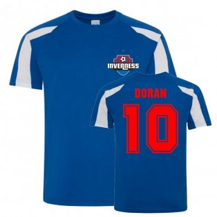 Aaron Doran Inverness Caledonian Thistle Sports Training Jersey (Blue)