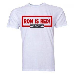 Romelu Lukaku ROM Is Red T-Shirt (White) - Kids