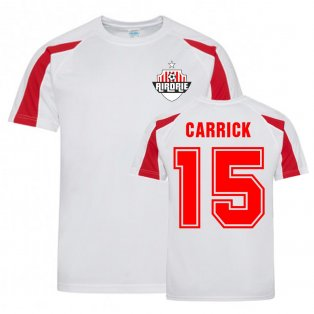 Dale Carrick Airdrie Sports Training Jersey (White)