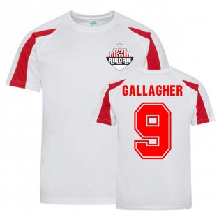 Calum Gallagher Airdrie Sports Training Jersey (White)