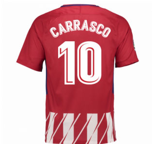 2017-2018 Atletico Madrid Home Shirt (Carrasco 10) - Kids