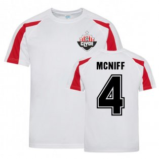 Martin McNiff Clyde Sports Training Jersey (White)