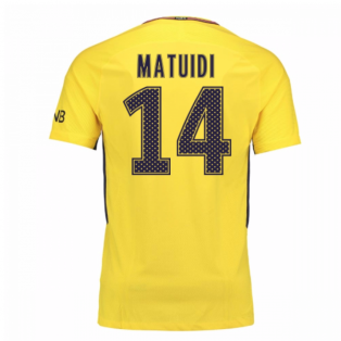 2017-18 PSG Away Shirt (Matuidi 14) - Kids