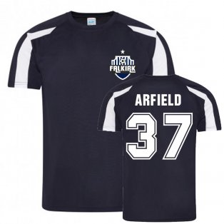 Scott Arfield Falkirk Sports Training Jersey (Navy)