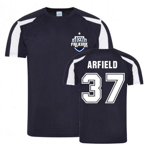 Scott Arfield Falkirk Sports Training Jersey (Navy)