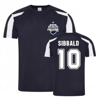 Craig Sibbald Falkirk Sports Training Jersey (Navy)