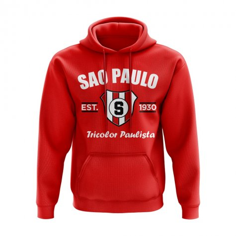 Sao Paolo Established Hoody (Red)