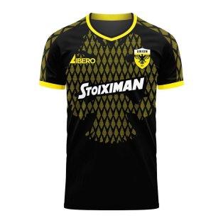 AEK Athens 2020-2021 Away Concept Football Kit (Libero)