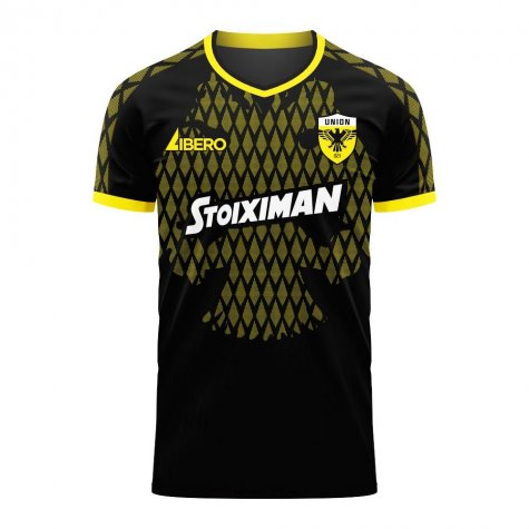 AEK Athens 2020-2021 Away Concept Football Kit (Libero)