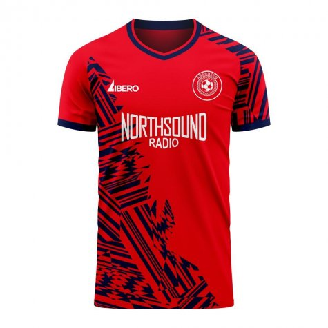 Aberdeen 2020-2021 Home Concept Football Kit (Libero) - Womens
