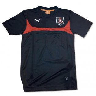 2014-2015 Airdrieonians Puma Training Jersey (Black)