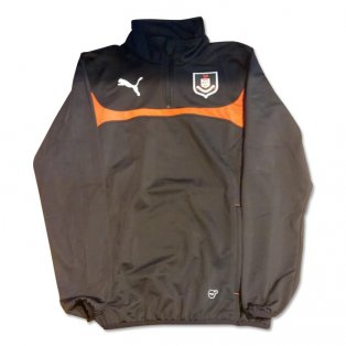 2014-2015 Airdrie Puma Half Zip Training Top (Black)
