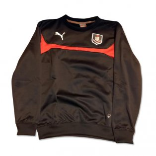 2014-2015 Airdrieonians Puma Sweat Top (Black)