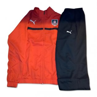 2014-2015 Airdrieonians Puma Tracksuit (Red) - Kids