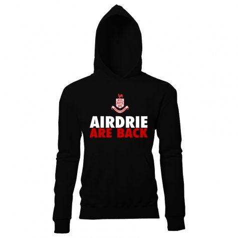 Airdrie Are Back Hoody (Black) - Kids