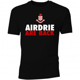 Airdrie Are Back T-Shirt (Black)