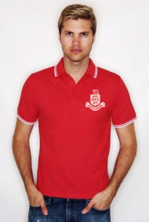 Airdrieonians Official Polo Shirt (Red) - Kids