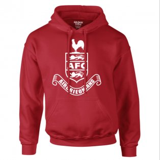 Airdrie Core Hooded Top (Red) - Kids