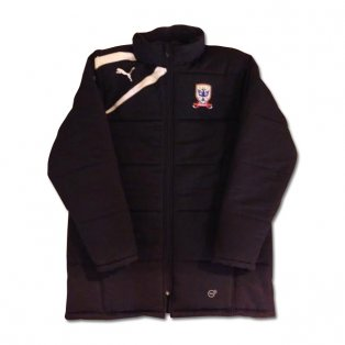 2013-14 Airdrie Puma Stadium Jacket (Black)