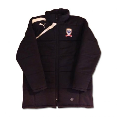 2013-14 Airdrie Puma Stadium Jacket (Black)