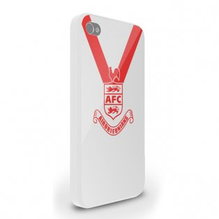 Airdrieonians Official iPhone 4 Cover (White)