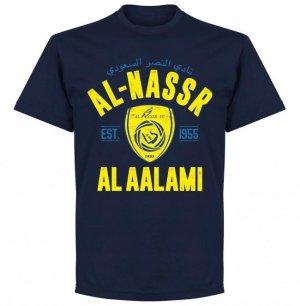 Al-Nassr Established T-Shirt - Navy